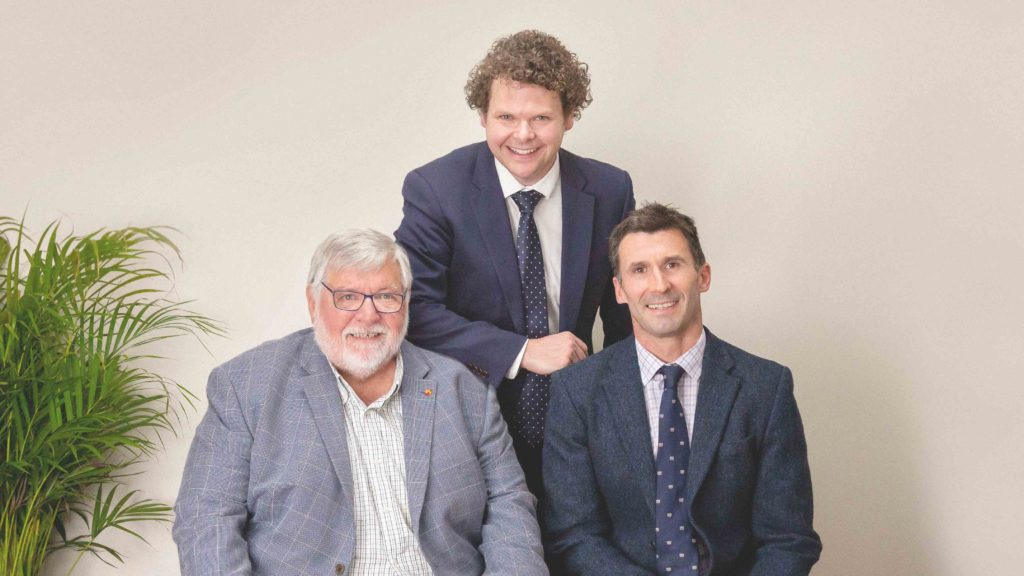 L-R Partners Paul Boylan, Sebastian Hill & Andrew Wright | Boylan Lawyers