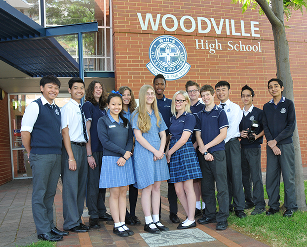 Andrew Wright visits Woodville High School to speak to Year 12 Law Studies class